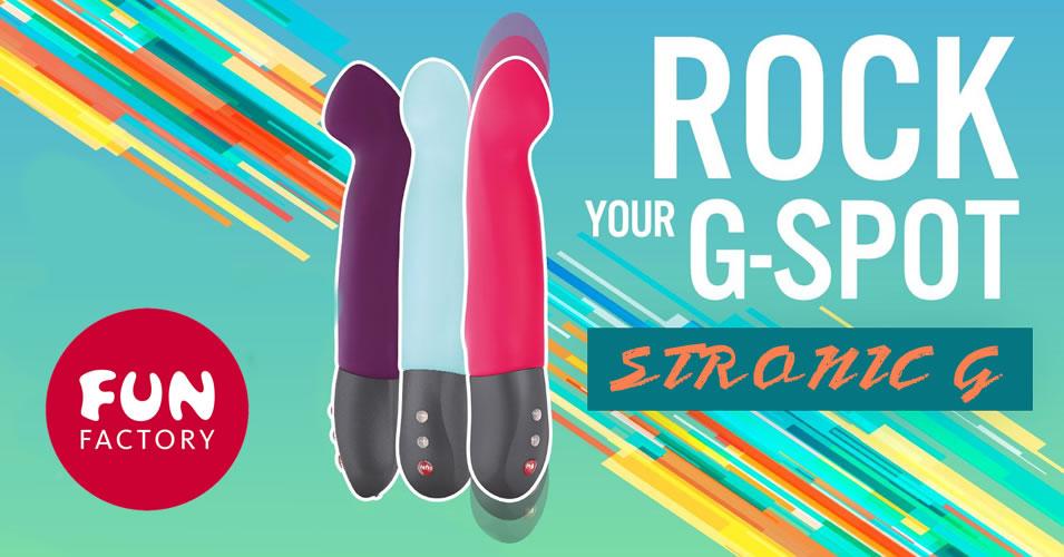 Fun Factory Stronic G - Sexlegetøj med pulsator og vibrator