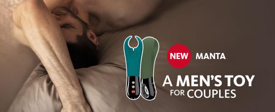 Fun Factory Manta Masturbator, Penis Vibrator og Parvibrator